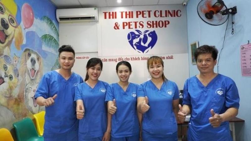 Bệnh viện thú y uy tín Thi Thi với chất lượng dịch vụ đạt chuẩn quốc tế