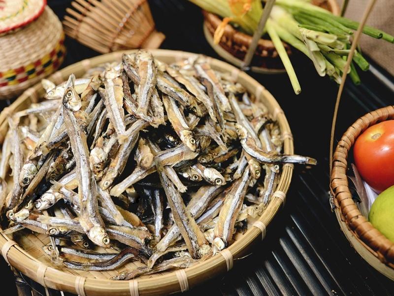 Cá cơm vừa là món khoái khẩu lại vừa dễ tiêu hóa đối với mèo.